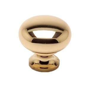 Berenson 7315 303 P Plymouth Polished Brass Knobs Cabinet Hardware