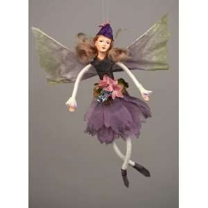 Purple Passion Purple Flower Fairy Ornament 8 Everything