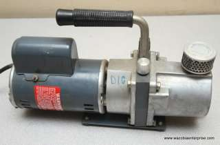SARVAC SARGENT WELCH VACUUM PUMP MODEL 8804