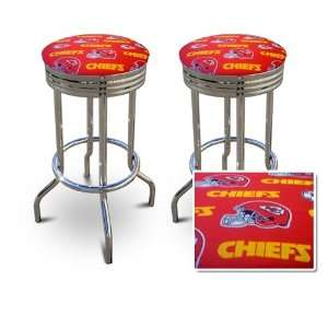 Kansas City Chiefs NFL Football Themed Specialty / Custom Barstools
