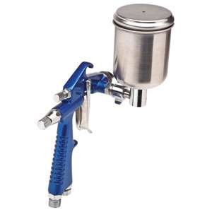 Gravity Feed Detail and Touch Up Spray Paint Gun 0.6 Needle/Nozzle