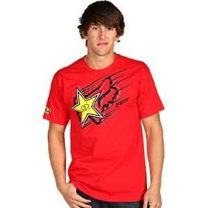 Fox Racing Rockstar Zoom s/s Tee Red M Automotive