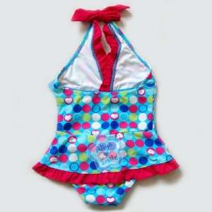 One Piece Girls Halter Swimsuit Kids Beachwear/Swimwear NWT SZ 3 9Y