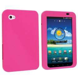 Pink Silicone Case for Samsung Galaxy Tab P1000 7 inch