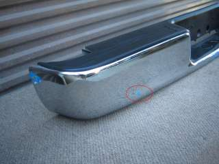 DODGE RAM PICKUP REAR CHROME BUMPER OEM 02 03 04 06 07