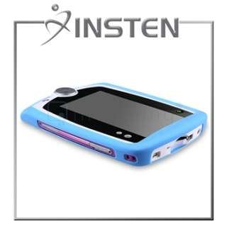 Screen Protector LCD Film+Insten Light Blue Gel Skin Case For LeapPad