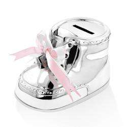 Wilouby Baby Bootie Keepsake Coin Bank