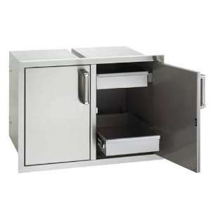 22 Stainless Steel Premium Flush Mounted Doors and Drawers Flush