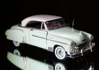 1950 Chevrolet Bel Air MOTORMAX Diecast 124 Scale Mint Green