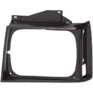 QP G0730 a Chevy S10 Black Driver Headlight Door Grille