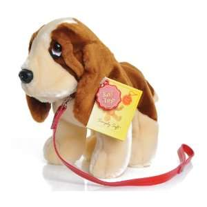 Keel Toys Puppy on Lead Basset Dog [Toy] Toys & Games