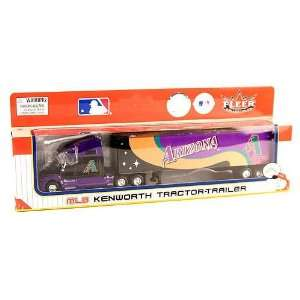 MLB FLEERS/UPPER DECK Diecast Tractor Trailer Truck Toys & Games