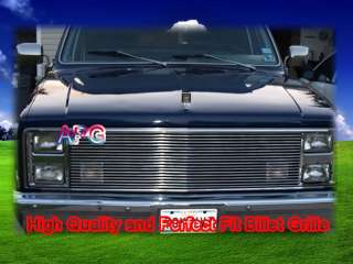 81~87 Chevy/GMC Pickup Jimmy Silverado Billet Grille (9mm bar)