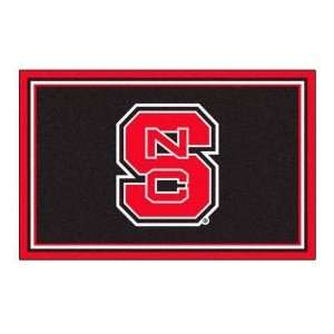 Fanmats North Carolina State 4 x 6 black Area Rug