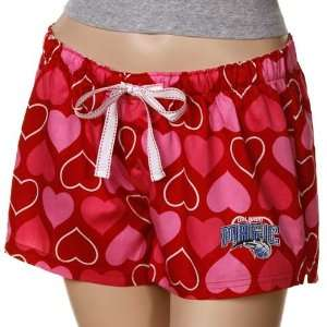 Orlando Magic Ladies Red Candy Hearts Boxer Shorts