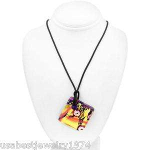 ANTICA MURRINA 925 St.Silver& 24K Murano Glass Necklace
