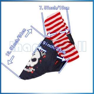 Hoodie Punk Style Pet Puppy Dog Clothes Apparel Strip