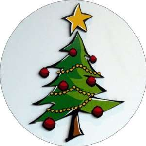 Christmas Tree Art   Fridge Magnet   Fibreglass reinforced plastic