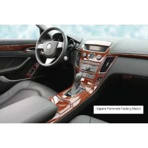 CADILLAC CTS 2008 up Wood Dash Trim Kit Factory Match