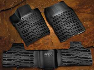 MOPAR SLUSH FLOOR MATS JEEP GRAND CHEROKEE 2011 2012