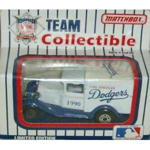 Los Angeles Dodgers 1990 Matchbox/White Rose MLB Diecast