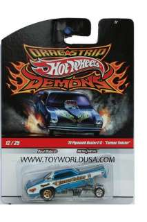 Hot Wheels Dragstrip Demons #12 70 Plymouth Duster F/C Tarmac
