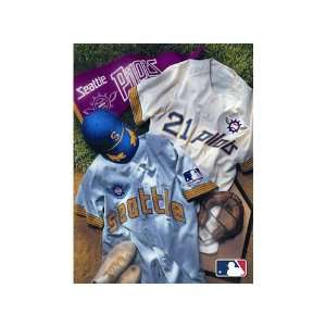 MLB Seattle Pilots Vintage Canvas Art