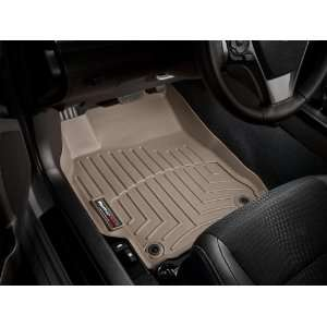 2012 Toyota Camry Tan Weathertech Floor Liners (Full Set