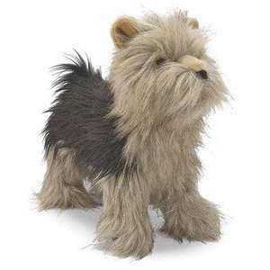 Yorkshire Terrier Plush Dog 1 foot tall by Melissa & Doug