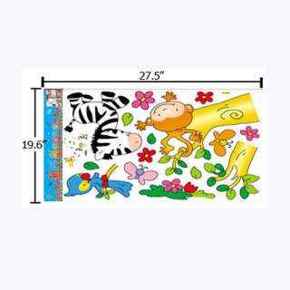 Deco Wall Sticker Monkey & Friends wall decal stickers HL5831