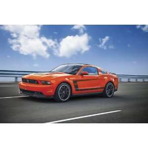 2012 Ford Mustang Boss 302 Competition Orange Prepasted