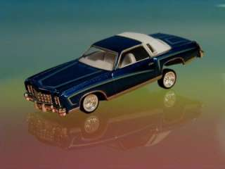 Hot 76 Chevy Monte Carlo Custom Lowrider Limited Edition 1/64 Scale