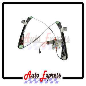 00 02 Lincoln LS Power Window Regulator with Motor Front Right