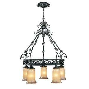 World Imports Chelsea Five Light Chandelier