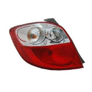 OE Replacement Toyota Matrix Passenger Side Taillight