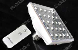 Rechargeable Emergency 25 LED Light Lamp Remote Control EP 801 E27