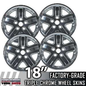 2007 2008 Dodge Durango 18 Chrome Wheel Skins Automotive