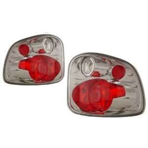1997 2001 Ford F Series KS G2 Chrome Tail Lights Automotive