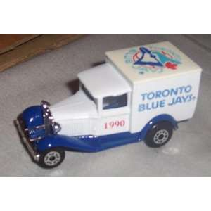 Toronto Blue Jays 1990 MLB Diecast Ford Model A Truck 1/64 Scale