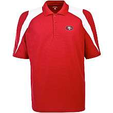 Mens Antigua San Francisco 49ers Innovate Polo