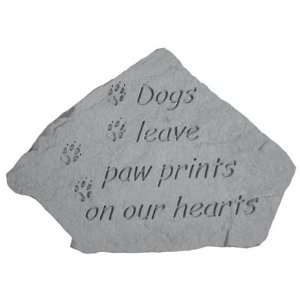 Memorial Dogs Leave Paw Prints (with small paw prints)