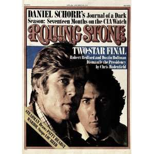 Robert Redford & Dustin Hoffman, 1976 Rolling Stone Cover