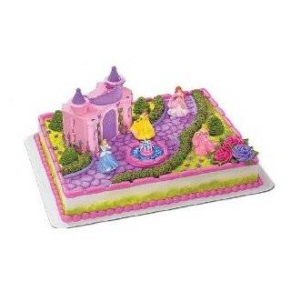 Disney Princess 21 Piece Birthday Cake Topper Set Featuring Princess