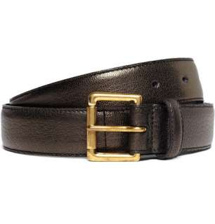 Accessories  Belts  Leather belts  Slim Leather Belt