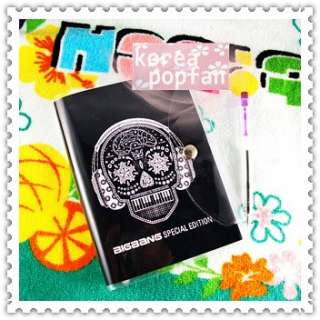 BIGBANG big bang KPOP BLACK Notebook & Badge SET NEW