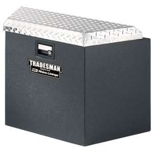 TST21TTBALRHINO 21 Steel Trailer Tongue Tool Box Automotive