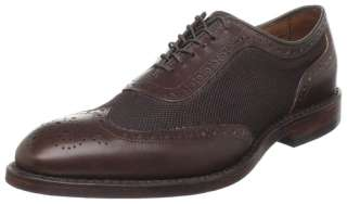 ALLEN EDMONDS MENS STRAWFUT BROWN MESH SHOES 8