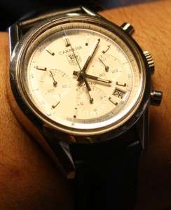 TAG HEUER CARRERA AUTOMATIC SWISS MENS CHRONOGRAPH WATCH