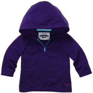 NWT OshKosh Infant/Toddler Girls Purple Fleece Hoodie   Was $24
