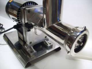 Stainless Steel Electric MEAT GRINDER PROCESSOR STUFFER Tubes Plates